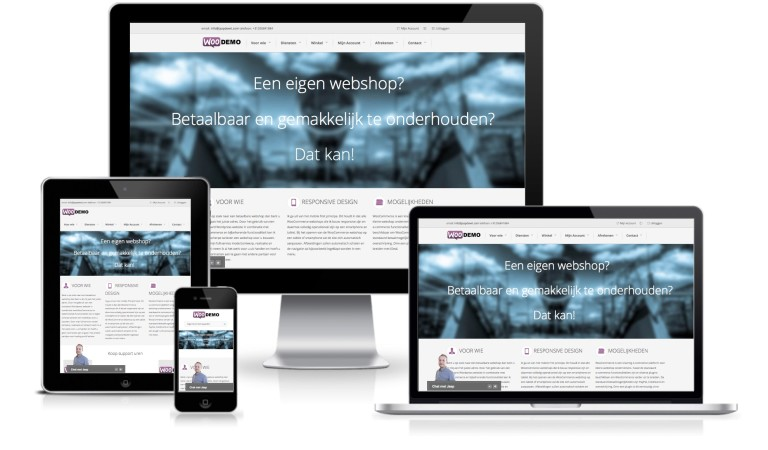 WooDemo – WooCommerce demoshop